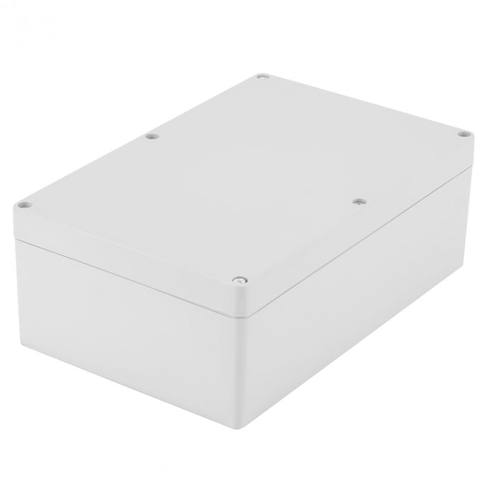 1Pc Waterproof Plastic Enclosure Box Electronic Project Instrument Case Outdoor Junction Box Housing DIY 230x150x85mm 1 piece lot 83 81 56mm grey abs plastic ip65 waterproof enclosure pvc junction box electronic project instrument case