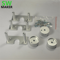 SWMAKER PROXXON MF70 CNC machine CNC Nema23 stepper motor conversion kit PROXXON MF70 STEP Nema 23 stepper MOTOR MOUNTING KIT
