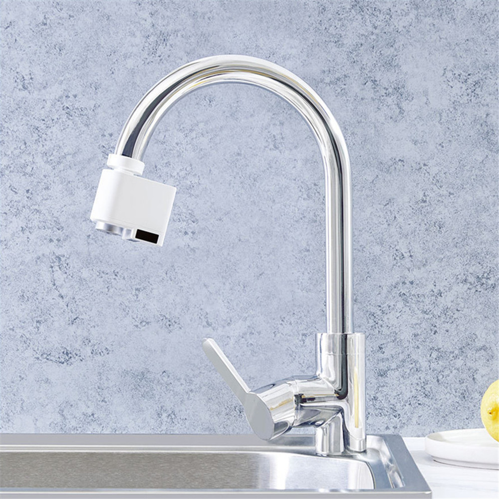 Us 42 99 Automatic Sense Infrared Induction Kitchen Bathroom Sink Faucet Water Saving Device Accessories In Kitchen Faucets From Home Improvement On