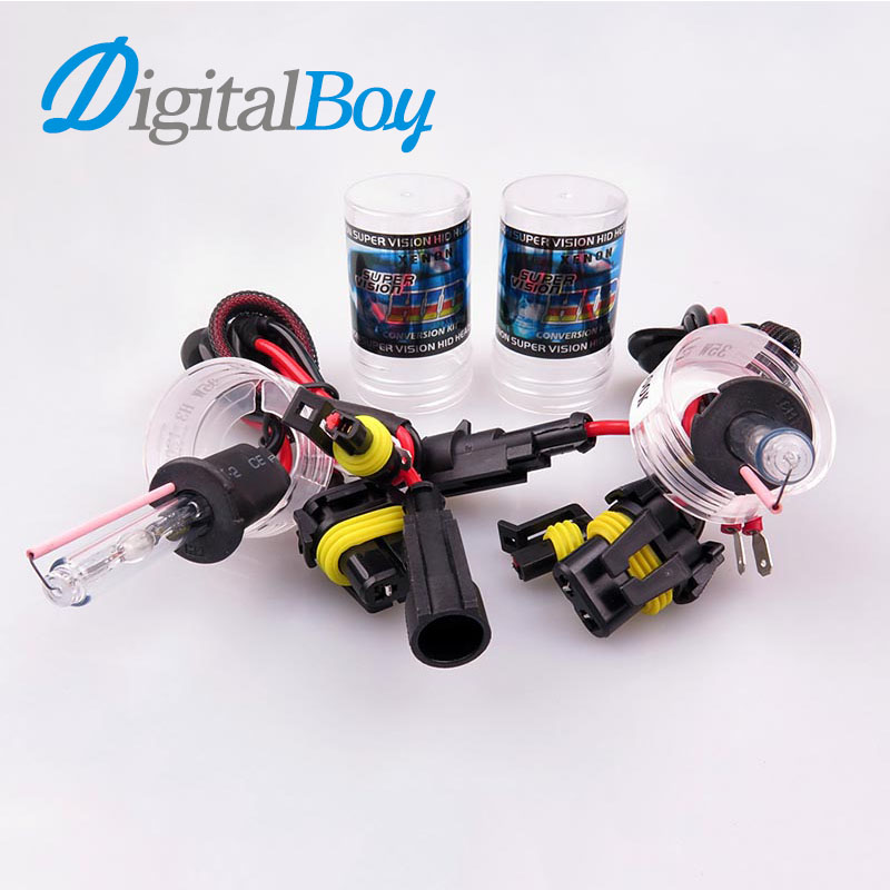 Digitalboy 2pcs 12V 55W H3 Xenon Bulb Lamp Replacement HID Xenon Lamp Car Fog Lights 4300k 5000k 6000k 8000k Car light Source high luminous lampada 4300 lm 50w e40 led bulb light 165 leds 5730 smd corn lamp ac110 220v warm white cold white free shipping