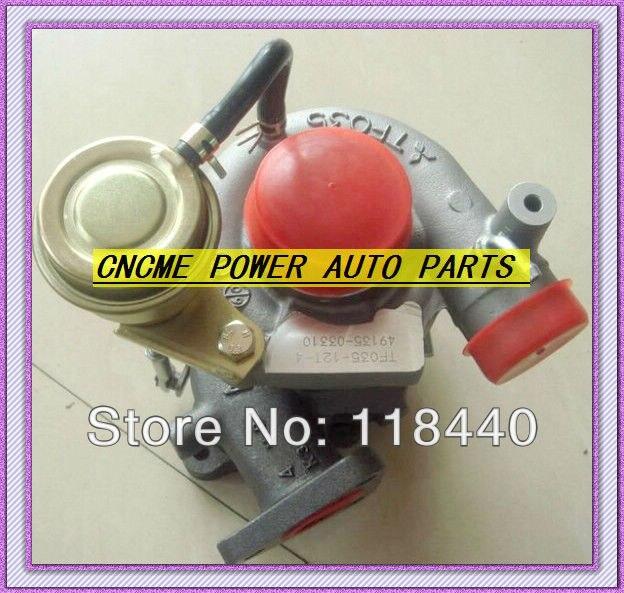 TURBO TF035 12T 4 49135 03310 49135 03130 Turbocharger For Mitsubishi font b Pajero b font