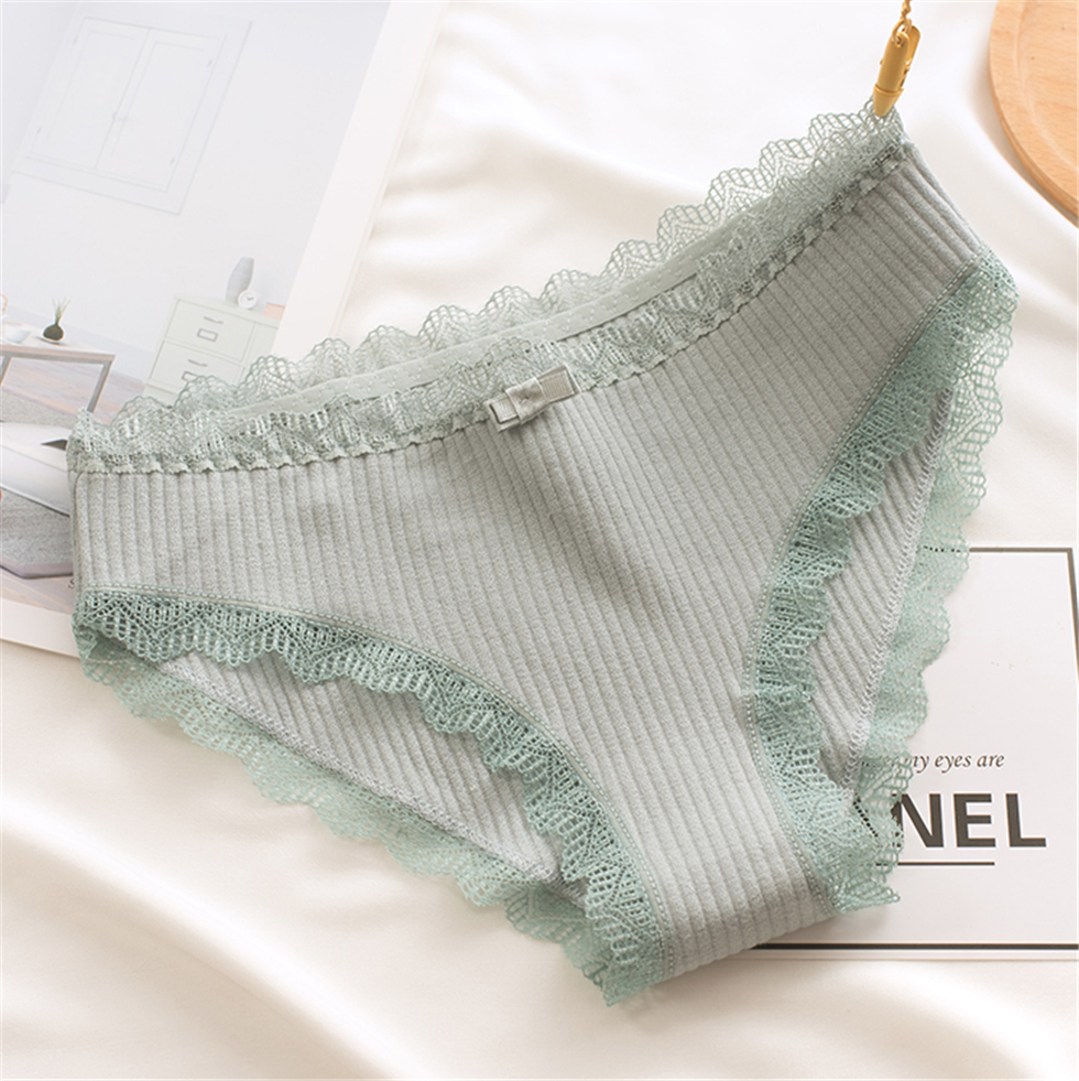 Sexy Lace   Panties   Women's Cotton Underwear Seamless Cute Bow Girls Briefs Soft Comfort Lingerie Fashion Female Sexy Underpants