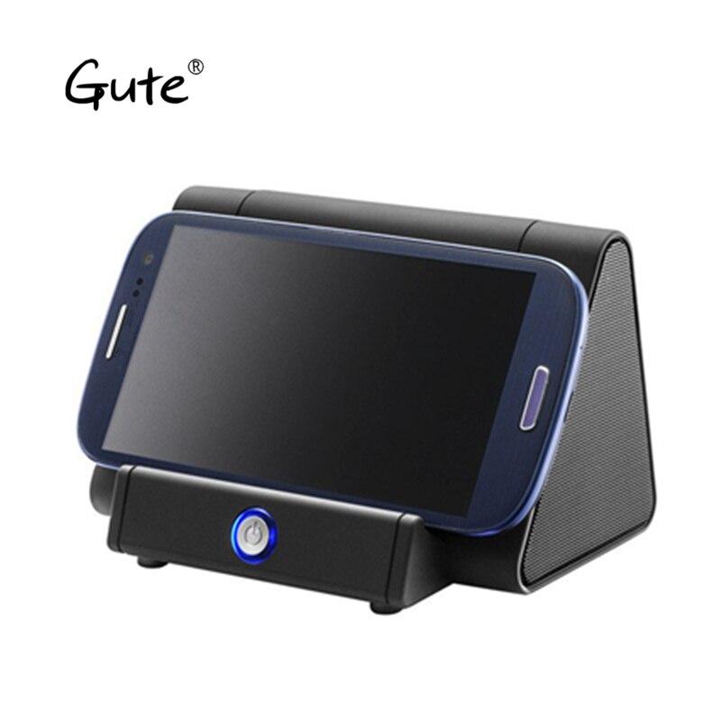 Gute Inteligente Amplificador alto Falante subwoofer caixa de som Sem Fio gratuita Bluetooth Não Stand Titular doca poderoso moda fre mon