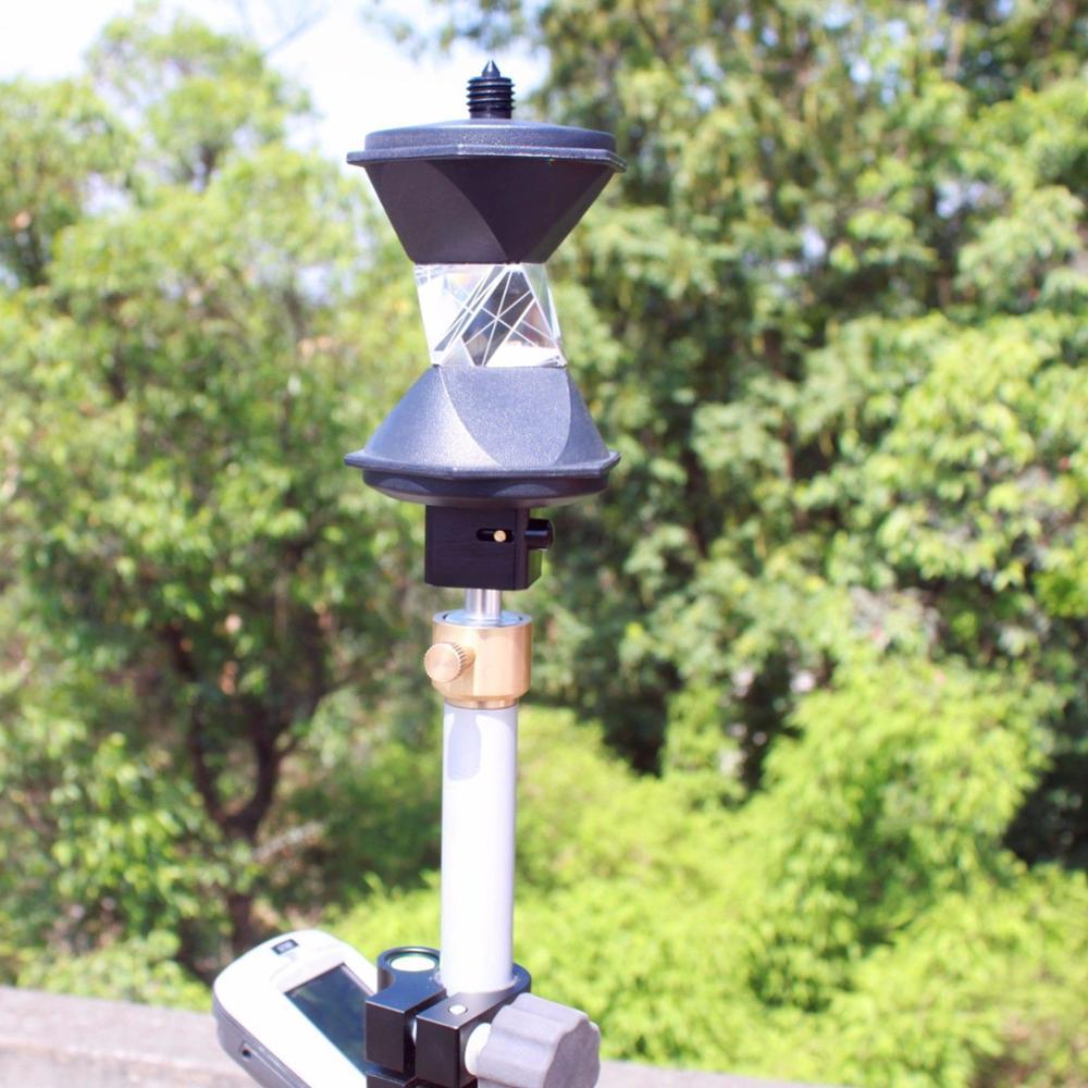 Novo Modelo de 360 Graus banhado a Prata Reflexivo Prisma Para Estações Totais de Lei-ca
