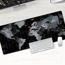 Карта старого мира 900×400 мм XXL большой коврик для мыши игровой коврик для Мыши Компьютерный Противоскользящий натуральный резиновый Настольный коврик для мыши с запирающимся краем