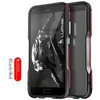 Luphie Odporny Na Wstrząsy Coque Aluminium dla Huawei P10 plus Metal Blade zderzaka Ramy Skrzynki Pokrywa Smart phone