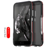 Luphie Shockproof Coque Aluminum for Huawei P10 plus Metal Blade bumper Frame Case Cover Smart phone