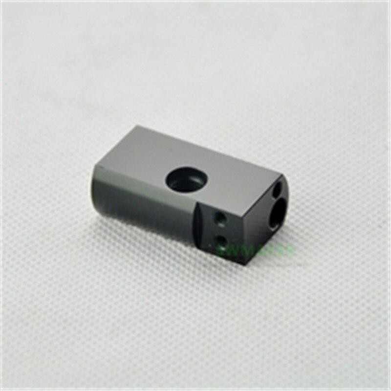 bloco de calor wanhao duplicador 6 impressora 3d d6 mk11 bloco de aluminio de extremidade quente