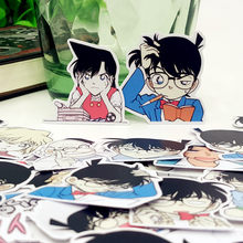 40pcs/bag Detective Conan cartoon album Scrapbook waterproof decoration stickers DIY Handmade Gift Scrapbooking sticker(China)