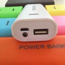 Мобильный Мощность банк чехол внешнего резервного 18650 Зарядное устройство 5600 мАч 2X18650 USB Мощность банк Батарея Зарядное устройство чехол сделай сам, коробка для MP3 чехол для телефона