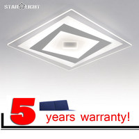 LOFAHS Modern LED ceiling light Square living bedroom room lamp acrylic New Business occasion LED home Luxury decor lighting