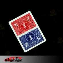 1 Pcs Magia metade Cartão Cor Divisão Rei Magia Baralho Mágico Adereços Engraçado Magia Truques de Magia
