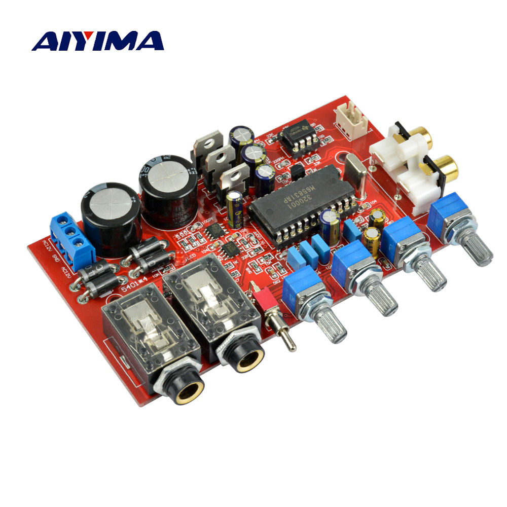 Aiyima Pt2399 Jrc5532 Karaoke Pre Amplifier Tone Board In Sub 150w 8ohm Subwoofer Circuit 35 150hz 2sa1943 M65831ap Ne5532 Preamp With Fuction Preamplifier Dual Ac12v 0