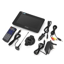 Leadstar 7Inch DVB T T2 16:9 Hd Digitale Analoge Draagbare Tv Kleur Televisie Speler Voor Home Auto Voor Uk Plug