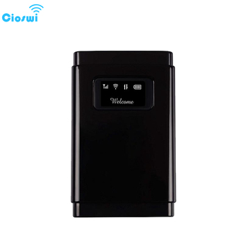 Cioswi Mobile 3G 4G Lte Modem Wireless Wifi Router For Car 4G Mifi With SIM Card Slot For Travel Business 2500mAh Long Standby