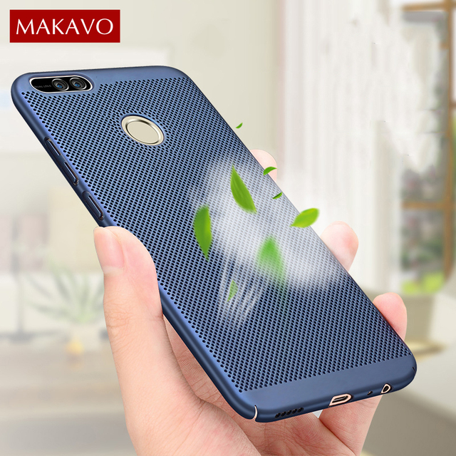 watch 9a5dd 04b07 US $4.99  MAKAVO Fundas For Xiaomi Mi A1 Case 360 Protection Hollow Matte  Hard Back Housing Cover For Xiaomi Mi 5X MiA1 Mi5X Phone Cases-in Fitted ...