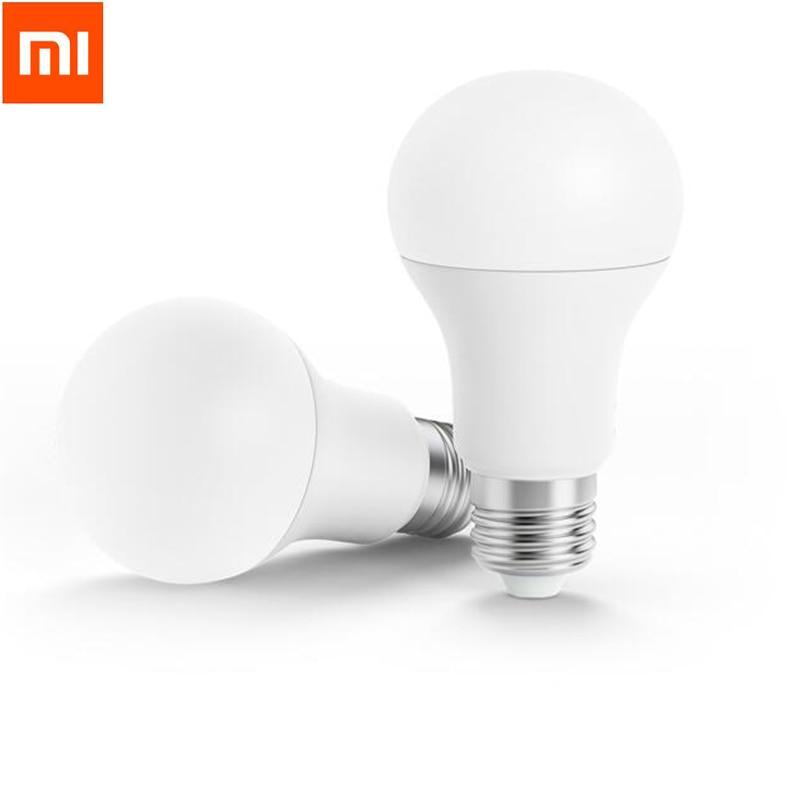 Original Xiaomi Smart White LED E27 Bulb Mi Light Mijia APP WiFi Remote Group Control 3000k-5700k 6.5W 450lm 220-240V 50/60Hz