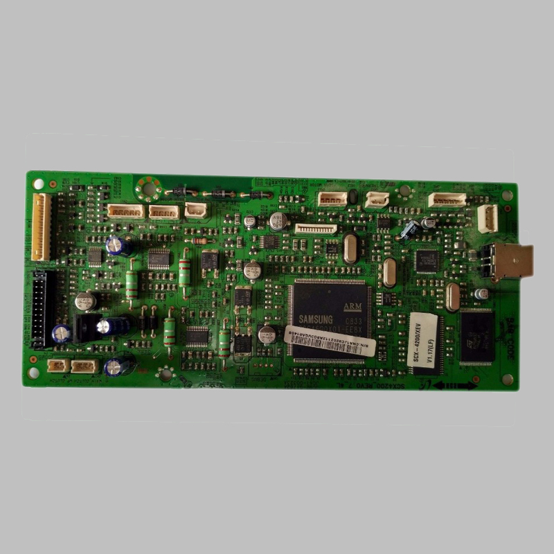 Used SCX4200 Original Formatter Board For Samsung SCX-4200 SCX 4200 JC92-02112A JC92-02112B JC92-02112C mainboard free shipping for samsung scx 4200 scx4200 formatter logic board jc92 01762a printer part on sale