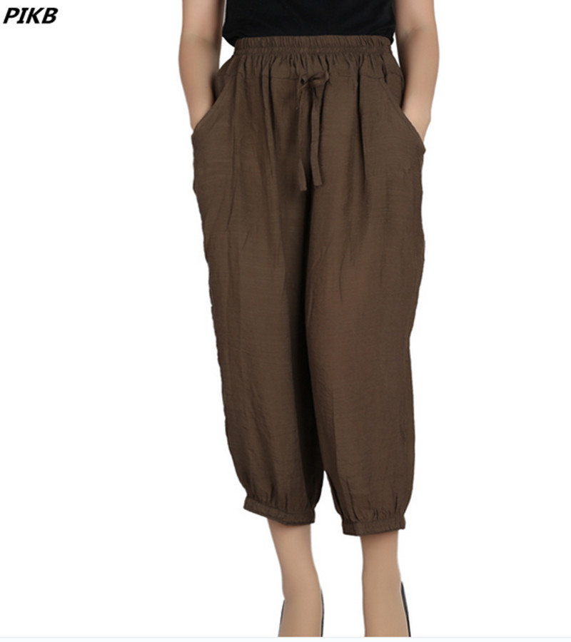 Popular Womens Khaki Linen Pants-Buy Cheap Womens Khaki Linen ...