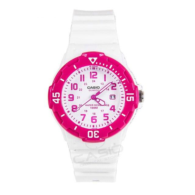 c087c522d8d0 Reloj CASIO LRW-200H-4B correa de silicona deportes fecha Día amantes de las