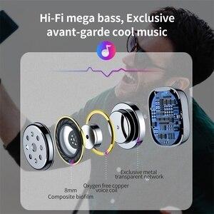 Image 3 - Baseus Bluetooth 5.0 słuchawki bezprzewodowe słuchawki Bluetooth dla iPhone Samsung Xiaomi zestaw głośnomówiący słuchawki sportowe słuchawki douszne
