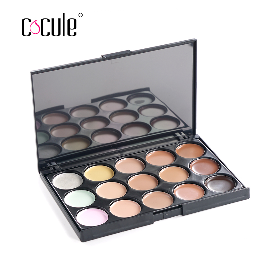 Professional 15 Color Concealer Facial Face Cream Care Camouflage Makeup Base Palettes Cosmetic