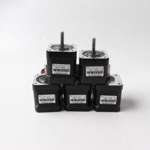 Nema 17 шаговый комплект двигателей для BLV MGN Cube 3d принтера D-cut вала