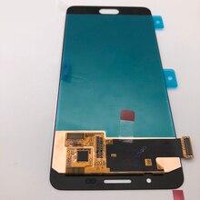 شاشة رقمية أصلية جديدة فائقة AMOLED لهاتف سامسونج جالاكسي A5 2016 LCD A510 A510F A510M A510FD شاشة تعمل باللمس
