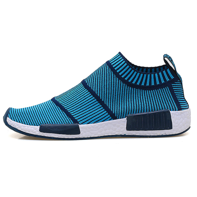 2017 New Cool Athletic Men Sneakers Summer Breathable Mesh Sport Shoes For Men Outdoor Super Light Running Shoes