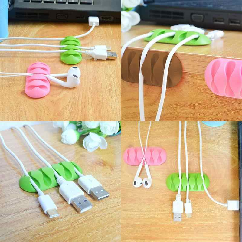 1PC Earphone Cable Wire Cord Collar Clip Nip Clamp Holder Mount Headphone Wire Clamp Holder Wire Lapel Clip