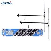 FMUSER FSN-150T 150 W 100 Вт fm-передатчик комплект fm-радиопередатчик трансляции+ 2 Bay дипольная антенна+ 30 м кабель для радиостанции