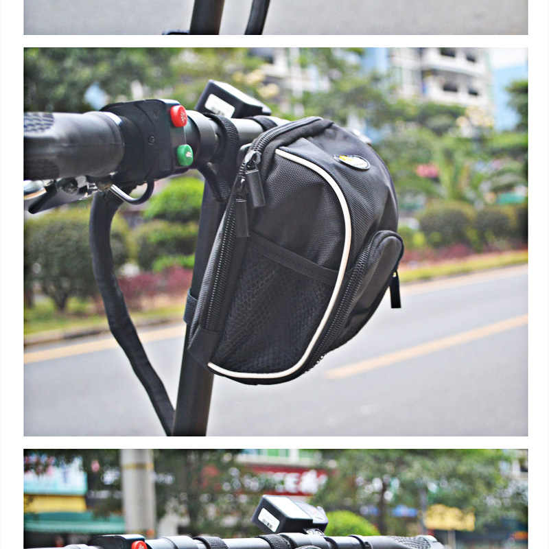Upgraded xiaomi m365 Scooter Head Handle Bag Waterproof Fit Electric Scooter m365 Dropshipping Charger Bottle ID Phone Wallet