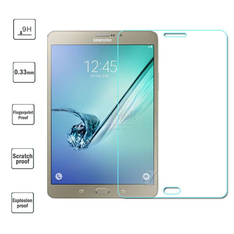 0.33mm Tempered Glass Film For Samsung Galaxy Tab S2 T710 Glass Screen Protector Protective Saver For Galaxy Tab S2 8