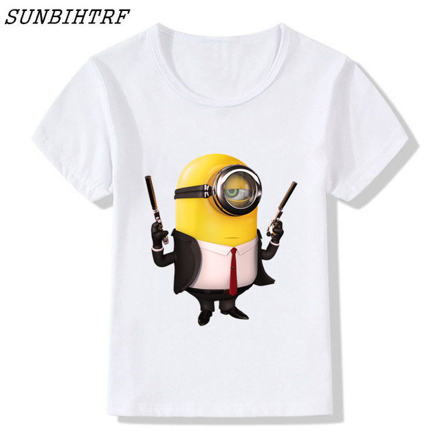 2a33e56d2 Summer clothes Kids tshirt despicable minions t shirt 3d print Funny  cartoon character t-shirts Children Tees Tops Boys/Girls St