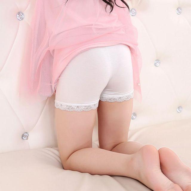 aed66a4c81f Modal Safety Short Pants Kids Underwear Leggings Girls Boxer Short for  Children girl short