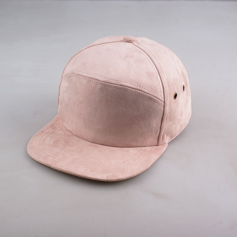 48d64bd52868b9 Suede Brand Blank 5 Panel Caps Hip Hop Hat Bone Bobby Five Panel Snapback  Baseball Cap For Men Women Flat Hat Casquette