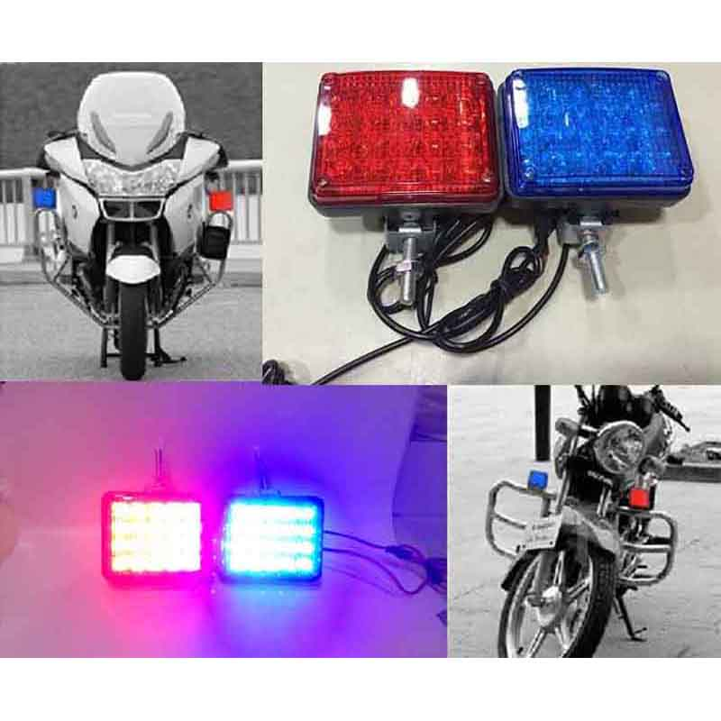 Blue Led Emergency Lights