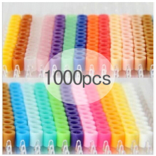 Fun.diy Puzzles Beads Educational-Toys Intelligence Hama-Beads/pupukou 1000pcs/Bag Iron