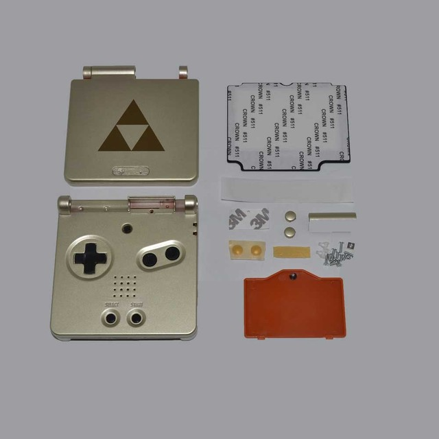 Cartoon Limited Edition Full Housing Shell replacement for Gameboy Advance SP for GBA SP Game Console Cover Case