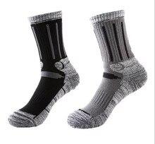 2 pairs/lot NEW R-BAO Outdoor Sports Women's Men's Socks Cotton Sports Mens Hiking Ski Socks 36-44 Spring Autumn Winter RB9901