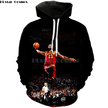 47d73d24856e PLstar Cosmos New Fashion basketball Hoodies celebrity Stephen Curry LeBron  James Print 3d Sweatshirts shirt