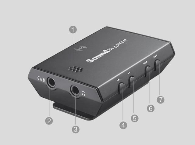 US $259 0 |Creative Sound Blaster E5 USB Sound card Bluetooth wireless  headphone amplifier PC/MAC USB DAC decoder 24bit/192KHz 3200mAh-in Sound  Cards