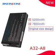 Nuovo A32 A8 Batteria Del Computer Portatile per Asus A8 A8A A8Dc A8E A8F A8Fm A8H A8He A8J A8Ja A8Jc A8Je A8Jm A8Jn a8Jp A8Jr A8Js A8Jv A8Z N80