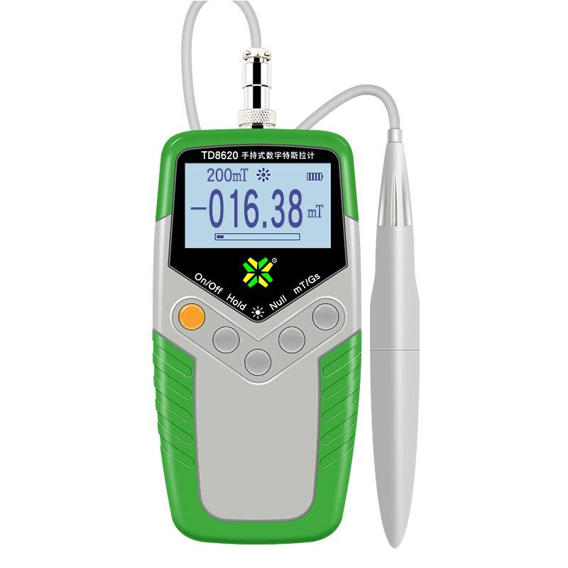 12d4b001071 Digital Handheld Tesla Gaussmeter EMF Tester Medidor de Gauss Ímã Permanente  do Campo Magnético da Superfície Testador 0 2000mT 5% Precisão em  Detectores de ...