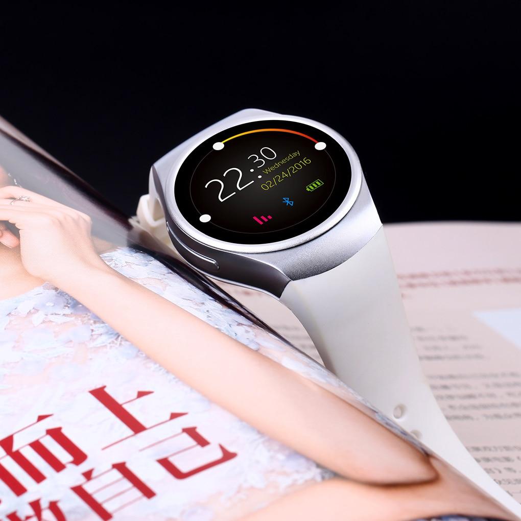 2019 KW18 1.3 Pouces HD écran lcd montres intelligentes montres intelligentes Soutien SIM TF Carte téléphone montre intelligente pour IOS Android 4.0 Bluetooth