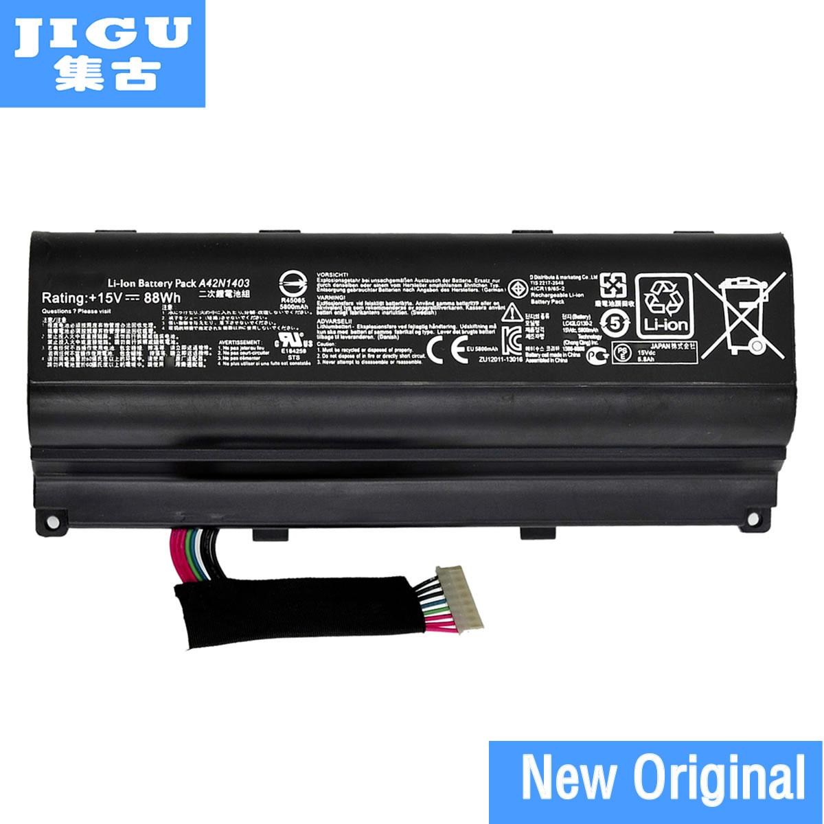 JIGU Original laptop battery for Asus ROG G751 G751J G751JM G751JY GFX71 GFX71J GFX71JM GFX71JY 15V 88WH