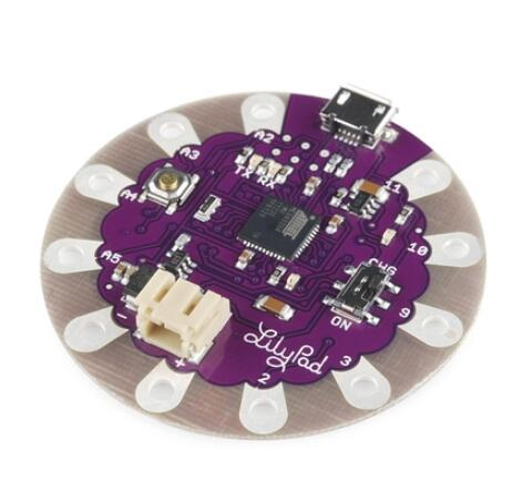 Tragbare LilyPad USB ATmega32U4 SCM Development Board Für Arduino