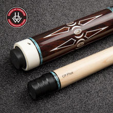 HOW H-292 Pro Series Cp Plus 12.5mm Ebony High-end Joint Abalone Shell Inlay Billiard Pool Cue Stick Kit Professional Athletes