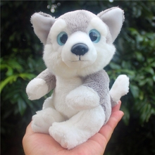Stuffed Toys  For Children Simulation Animal  Dog  Mini Husky Doll  Plush Toy Dolls