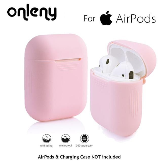 For AirPods Silicone Case Eartip Strap Cover Protective Skin for Apple for Airpod Charging Case sport headphone fone de ouvido